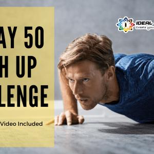 30 Day 50 Push Up Challenge